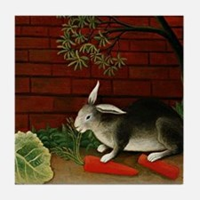 Henri Rousseau: Rabbit Tile Coaster
