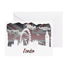 White London Greeting Card