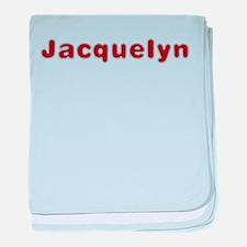 Jacquelyn Santa Fur baby blanket