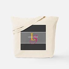 Elegant Contemporary Monogram Tote Bag