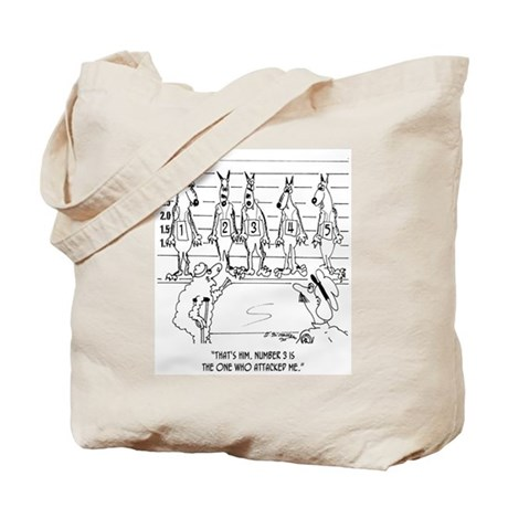 Wolf Line Up Tote Bag