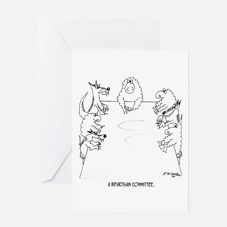 A Bipartisan Committee Greeting Card