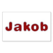 Jakob Santa Fur Rectangle Decal