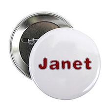 Janet Santa Fur Button 10 Pack