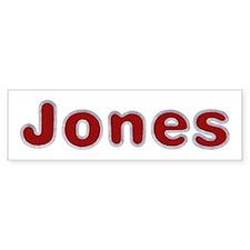 Jones Santa Fur Bumper Bumper Sticker