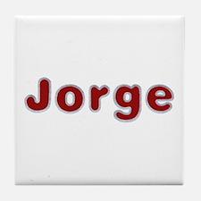 Jorge Santa Fur Tile Coaster