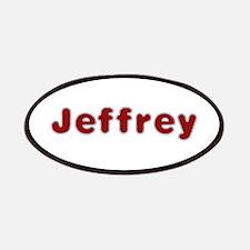 Jeffrey Santa Fur Patch