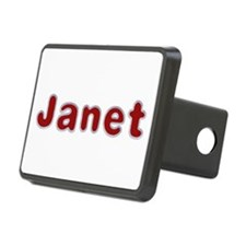 Janet Santa Fur Hitch Cover