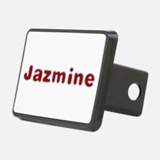 Jazmine Santa Fur Hitch Cover