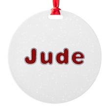 Jude Santa Fur Ornament