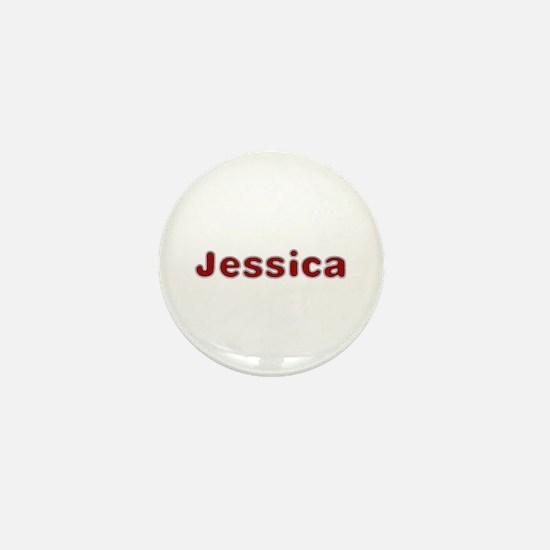 Jessica Santa Fur Mini Button