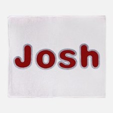Josh Santa Fur Throw Blanket