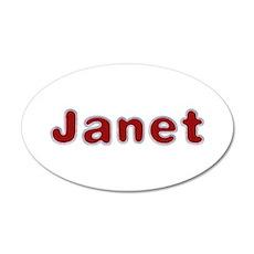 Janet Santa Fur Wall Decal