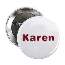 Karen Santa Fur Button 10 Pack
