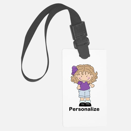 My Girl Personalized Large Luggage Tag