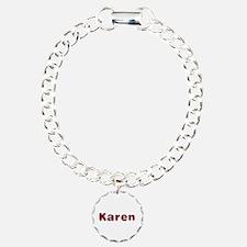 Karen Santa Fur Bracelet