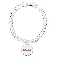 Karla Santa Fur Bracelet