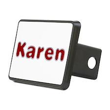 Karen Santa Fur Hitch Cover