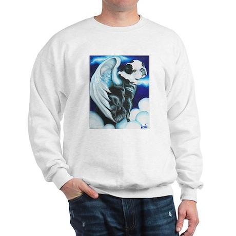 Boston Terrier Angel Sweatshirt