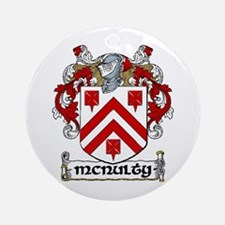 McNulty Coat of Arms Ornament (Round)