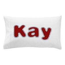 Kay Santa Fur Pillow Case