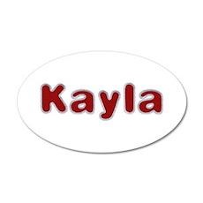 Kayla Santa Fur Wall Decal