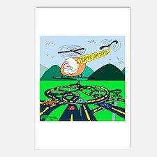 Traffic Lamb-Chopper Postcards (Package of 8)