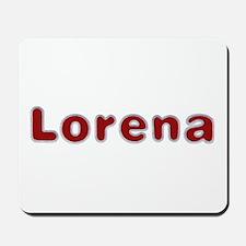 Lorena Santa Fur Mousepad
