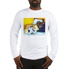 Boxer and Teddy Long Sleeve T-Shirt