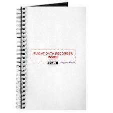 Cute Flight recorder Journal