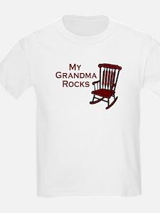 My Grandma Rocks Kids T-Shirt