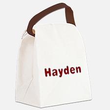 Hayden Santa Fur Canvas Lunch Bag