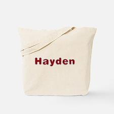 Hayden Santa Fur Tote Bag