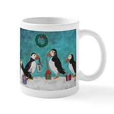 A Puffin Christmas Mug