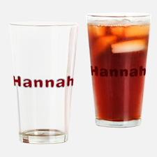 Hannah Santa Fur Drinking Glass