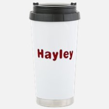 Hayley Santa Fur Stainless Steel Travel Mug