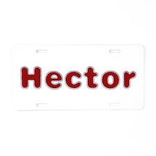 Hector Santa Fur Aluminum License Plate