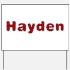 Hayden Santa Fur Yard Sign