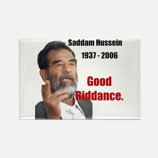 Saddam Hussein Rectangle Magnet