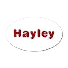 Hayley Santa Fur Wall Decal