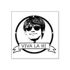 "Viva La Bi Square Sticker 3"" x 3"""
