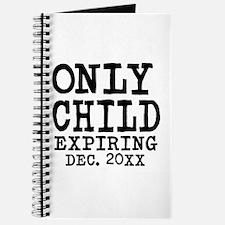 Only Child Expiring Journal
