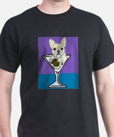 Fawn French Bulldog Martini T-Shirt