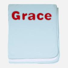 Grace Santa Fur baby blanket
