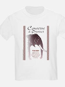Elephant Conservation: Kids T-Shirt