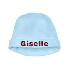 Giselle Santa Fur baby hat