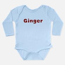 Ginger Santa Fur Body Suit