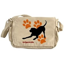 Tripawds Hound Dog Messenger Bag