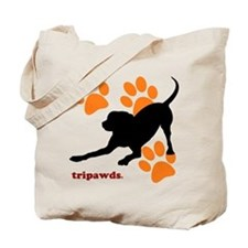 Tripawds Hound Dog Tote Bag