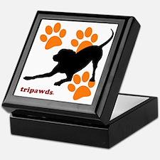 Tripawds Hound Dog Keepsake Box